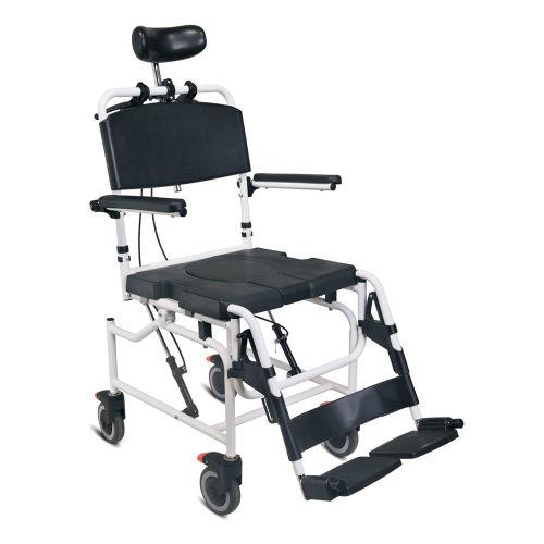 WOLLEX - WG-M698 Tekerlekli Banyo ve Tuvalet Sandalyesi