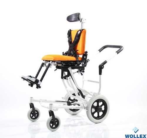 WG-M957 Özellikli Pediatrik Tekerlekli Sandalye