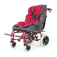 WOLLEX - W258 Özellikli Çocuk Manuel Tekerlekli Sandalye